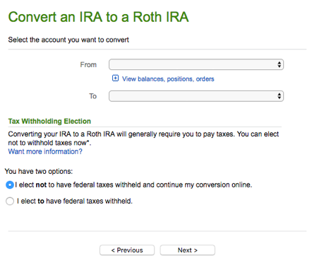 Backdoor Roth IRA Guide - Fidelity - Convert to Roth IRA